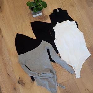 Lot of 4 bodysuits size M/8